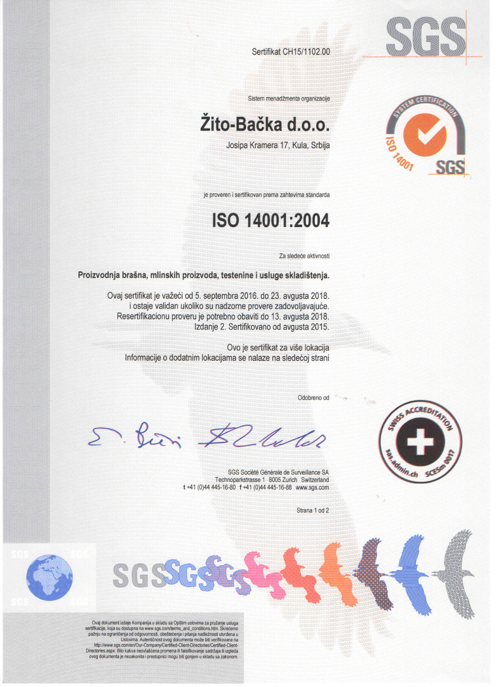 iso 14001 version 2004 pdf
